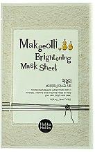 Parfüm, Parfüméria, kozmetikum Szövetmaszk rizsbor kivonattal - Holika Holika Makgeolli Brightening Mask Sheet