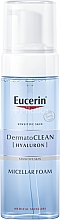Parfüm, Parfüméria, kozmetikum Micellás tisztító hab - Eucerin DermatoClean Hyaluron Micellar Foam