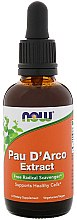 Parfüm, Parfüméria, kozmetikum Étrend-kiegészítő Pau D'Arco kivonat - Now Foods Pau D'Arco Extract