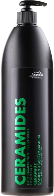Sampon minden hajtípusra - Joanna Professional Hair Shampoo With Fresh Scent Ceramides