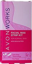 Parfüm, Parfüméria, kozmetikum Gyantacsíkok arcra - Avon Works For Face & Brown