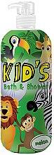 Parfüm, Parfüméria, kozmetikum Tusoló- és fürdőhab - Hegron Kid's Melon Bath & Shower
