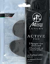 Parfüm, Parfüméria, kozmetikum Sminklemosó szivacs aktív szénnel - Martini Spa