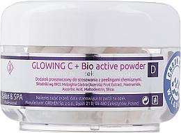 Parfüm, Parfüméria, kozmetikum Bioaktív púder arc színtelenítésére - Charmine Rose Glowing C+ Bio Active Powder