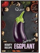 Parfüm, Parfüméria, kozmetikum Nyugtató maszk - Quret Beauty Recipe Mask Eggplant Soothing