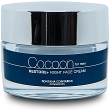 Parfüm, Parfüméria, kozmetikum Férfi arckrém - Fontana Contarini Cocoon Restore+ Night Face Cream