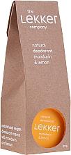 """Parfüm, Parfüméria, kozmetikum Krém-izzadásgátló """"Mandarin-citrom"""" - The Lekker Company Natural Deodorant Mandarin & Lemon"""