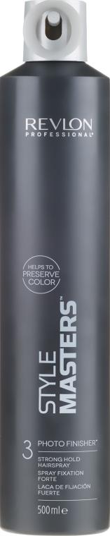 Hajformázó spray, erős fixálás - Revlon Professional Style Masters Photo Finisher Hairspray-3 — fotó N1