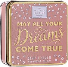 """Parfüm, Parfüméria, kozmetikum Szappan """"May All Your Dreams Come True"""" - Scottish Fine Soaps May All Your Dreams Come True Soap In A Tin"""