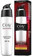 Parfüm, Parfüméria, kozmetikum Hidratáló lotion arcra - Olay Regenerist Day Fluid Lotion SPF15