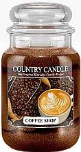 Parfüm, Parfüméria, kozmetikum Illatgyertya üvegben - Country Candle Coffee Shop