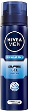 "Parfüm, Parfüméria, kozmetikum Borotvagél ""Fresh aktive"" - Nivea For Men Fresh Active Shaving Gel"