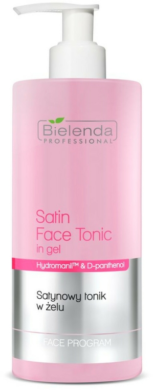 Arctisztító tonik-gél - Bielenda Professional Program Face Skin Satin Tonik