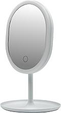 Parfüm, Parfüméria, kozmetikum Tükör LED világítással, fehér - Inter-Vion LED With Mini USB