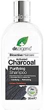 Parfüm, Parfüméria, kozmetikum Sampon aktív szénnel - Dr. Organic Bioactive Haircare Activated Charcoal Purifying Shampoo