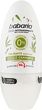 Parfüm, Parfüméria, kozmetikum Roll-on dezodor kannabisszal - Babaria Cannabis Deodorant Roll-on