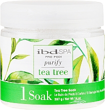 Parfüm, Parfüméria, kozmetikum Fürdősó kézre és lábra teafa kivonattal - IBD Tea Tree Purify Pedi Spa Soak