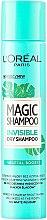 Parfüm, Parfüméria, kozmetikum Száraz hajsampon - L'Oreal Paris Magic Shampoo Invisible Dry Shampoo Vegetal Boost