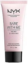 Parfüm, Parfüméria, kozmetikum Primer arcra - NYX Professional Makeup Bare With Me Hemp Radiant Perfecting Primer