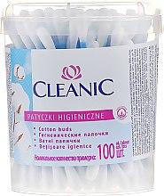 """Parfüm, Parfüméria, kozmetikum Fültisztító pálcika """"Classic"""", 100 db - Cleanic Face Care Cotton Buds"""