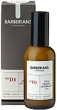 Parfüm, Parfüméria, kozmetikum Arckrém borotválkozás után - Barberians. №D1 Face Cream & Aftershave