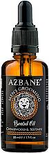 """Parfüm, Parfüméria, kozmetikum Szakállolaj """"Cédrus és szerecsendió"""" - Azbane Bean Oil With Cedarwood And Nutmeg Oil"""