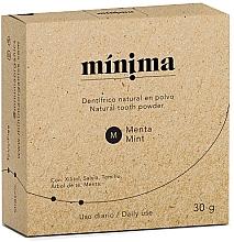 Parfüm, Parfüméria, kozmetikum Természetes fogpor - Minima Organics Natural Tooth Powder
