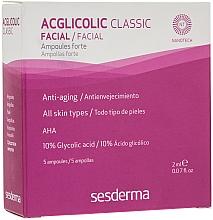 Parfüm, Parfüméria, kozmetikum Erős glikolsav-ampullák - SesDerma Laboratories Acglicolic Classic Ampoules Forte
