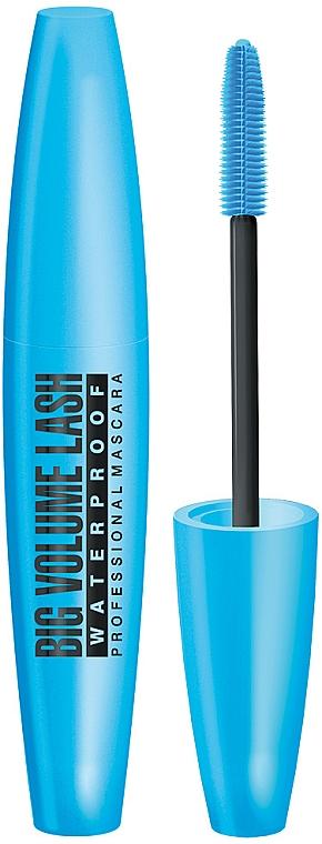Vízálló szempillaspirál - Eveline Cosmetics Big Volume Lash Professional Mascara