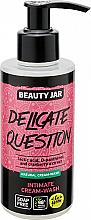 Parfüm, Parfüméria, kozmetikum Intim mosakodó gél-krém - Beauty Jar Delicate Question Intimate Cream-Wash