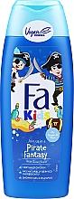 Parfüm, Parfüméria, kozmetikum Gél-sampon zuhanyhoz fiuknak - Fa Kids Pirate Fantasy