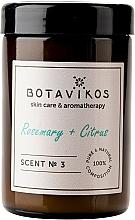 Parfüm, Parfüméria, kozmetikum Botavikos Rosemary&Citrus - Illatgyertya