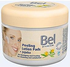 Parfüm, Parfüméria, kozmetikum Nedves vattakorong jojoba kivonattal - Bel Premium Peeling Lotion Jojoba Pads