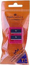 Parfüm, Parfüméria, kozmetikum Kettős szemceruza hegyező, 2199, rózsaszín - Top Choice