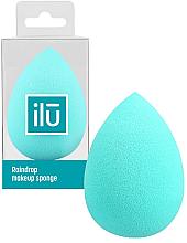Parfüm, Parfüméria, kozmetikum Sminkszivacs, türkíz, csepp alakú - Ilu Sponge Raindrop Turquoise