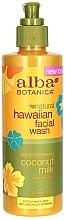 """Parfüm, Parfüméria, kozmetikum Arctisztító """"Kókusz tej"""" - Alba Botanica Natural Hawaiian Natural Hawaiian Facial Wash Deep Cleansing Coconut Milk"""