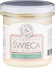 """Parfüm, Parfüméria, kozmetikum Masszázs aromagyertya """"Aloe vera és pomeló"""" - E-Fiore Massage Candle"""