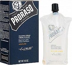 Parfüm, Parfüméria, kozmetikum Borotválkozó krém - Proraso Shaving Cream Azur Lime