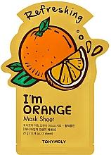 Parfüm, Parfüméria, kozmetikum Szövetmaszk narancs kivonattal - Tony Moly I Am Orange Mask Sheet