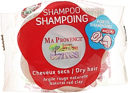 "Parfüm, Parfüméria, kozmetikum Szilárd Bio-sampon száraz hajra ""Piros agyag"" - Ma Provence Shampoo"