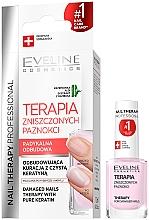 Parfüm, Parfüméria, kozmetikum Körömerősítő - Eveline Cosmetics Nail Therapy Professional Therapy For Damage Nails