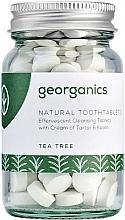 "Parfüm, Parfüméria, kozmetikum Fogtisztító tabletta ""Tea fa"" - Georganics Natural Toothtablets Tea Tree"