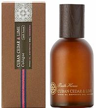 Parfüm, Parfüméria, kozmetikum Bath House Cuban Cedar & Lime - Eau De Cologne
