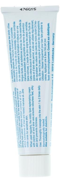 Dezodoráló krém - Gehwol Med Fussdeo-creme — fotó N2