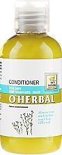 Parfüm, Parfüméria, kozmetikum Balzsam-kondicionáló száraz hajra lenmag kivonattal - O'Herbal