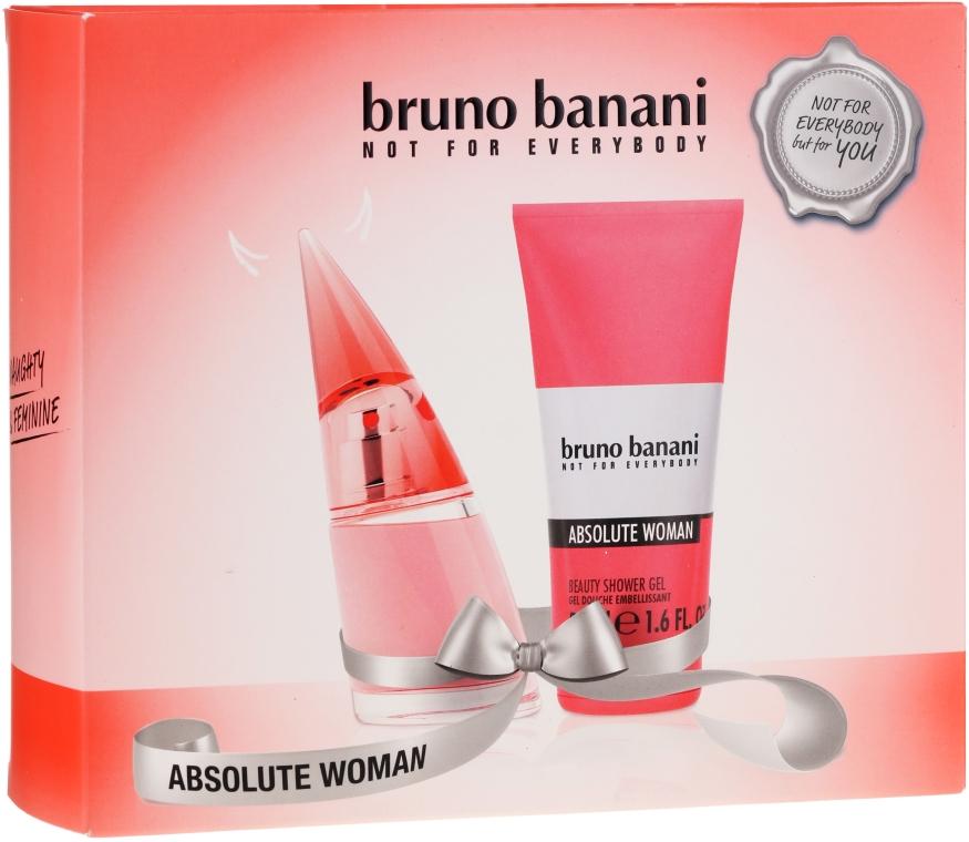 Bruno Banani Absolute Woman - Szett (edt/20ml + s/gel/50ml)