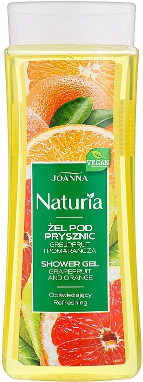 "Tusfürdő ""Grapefruit és narancs"" - Joanna Naturia Grapefruit and Orange Shower Gel"