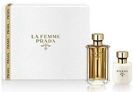 Parfüm, Parfüméria, kozmetikum Prada La Femme Prada - Szett (edp/50ml + b/lot/100ml)