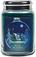 Parfüm, Parfüméria, kozmetikum Illatgyertya pohárban - Village Candle Peace Of Earth