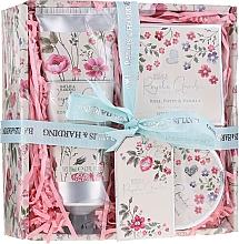 Parfüm, Parfüméria, kozmetikum Szett - Baylis & Harding Royale Garden Rose Poppy And Vanila (sh/cr/130ml + b/butter/100ml + soap/150g)
